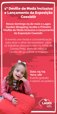Eventos Lages Garden Shopping